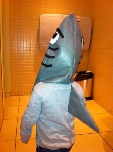 disfraz tiburón