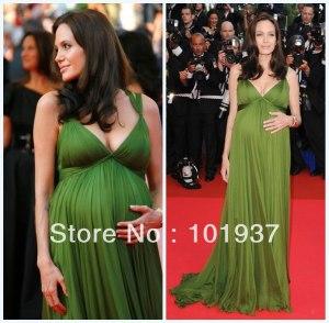 Cheap-Pregnant-Evening-font-b-Dress-b-font-Green-Elegant-font-b-Angelina-b-font-font