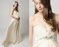 vestido de novia premamá