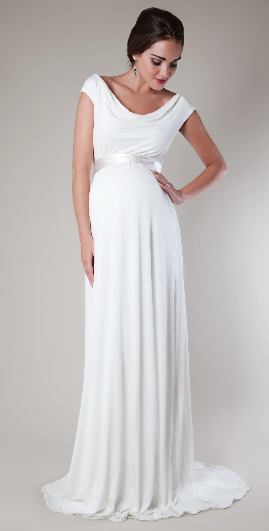 610bb69b4 vestido de novia premamá vestido novia embarazada vestido novia embarazada  ...