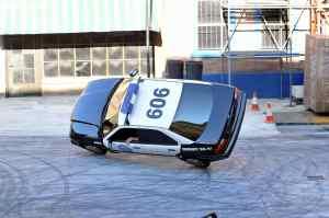 Espectáculo Loca Academia de Policia en la Warner