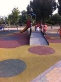 Zona de juego en el parque Ciudad de los ninos